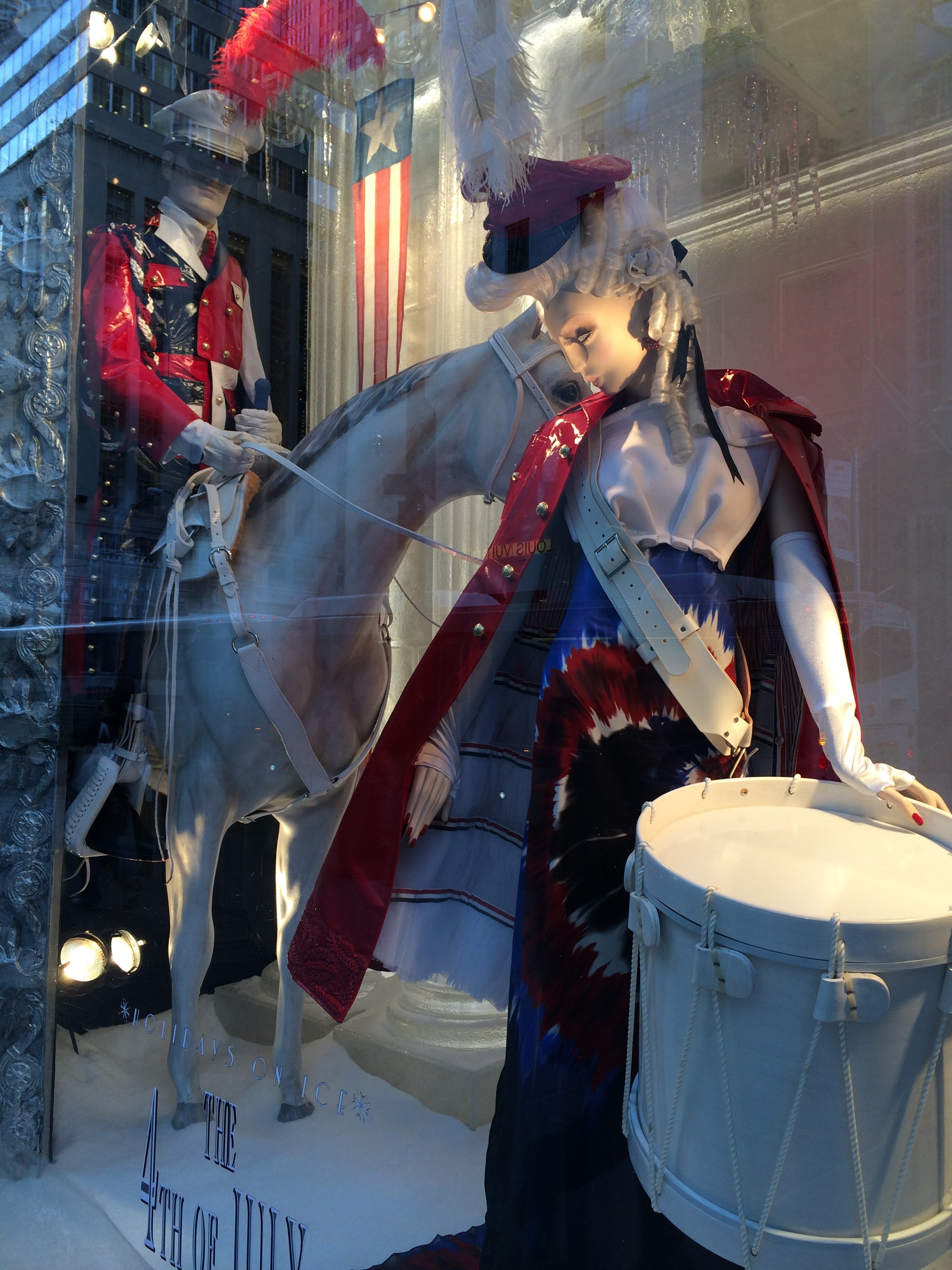 4th of July Window, Bergdorf Goodman