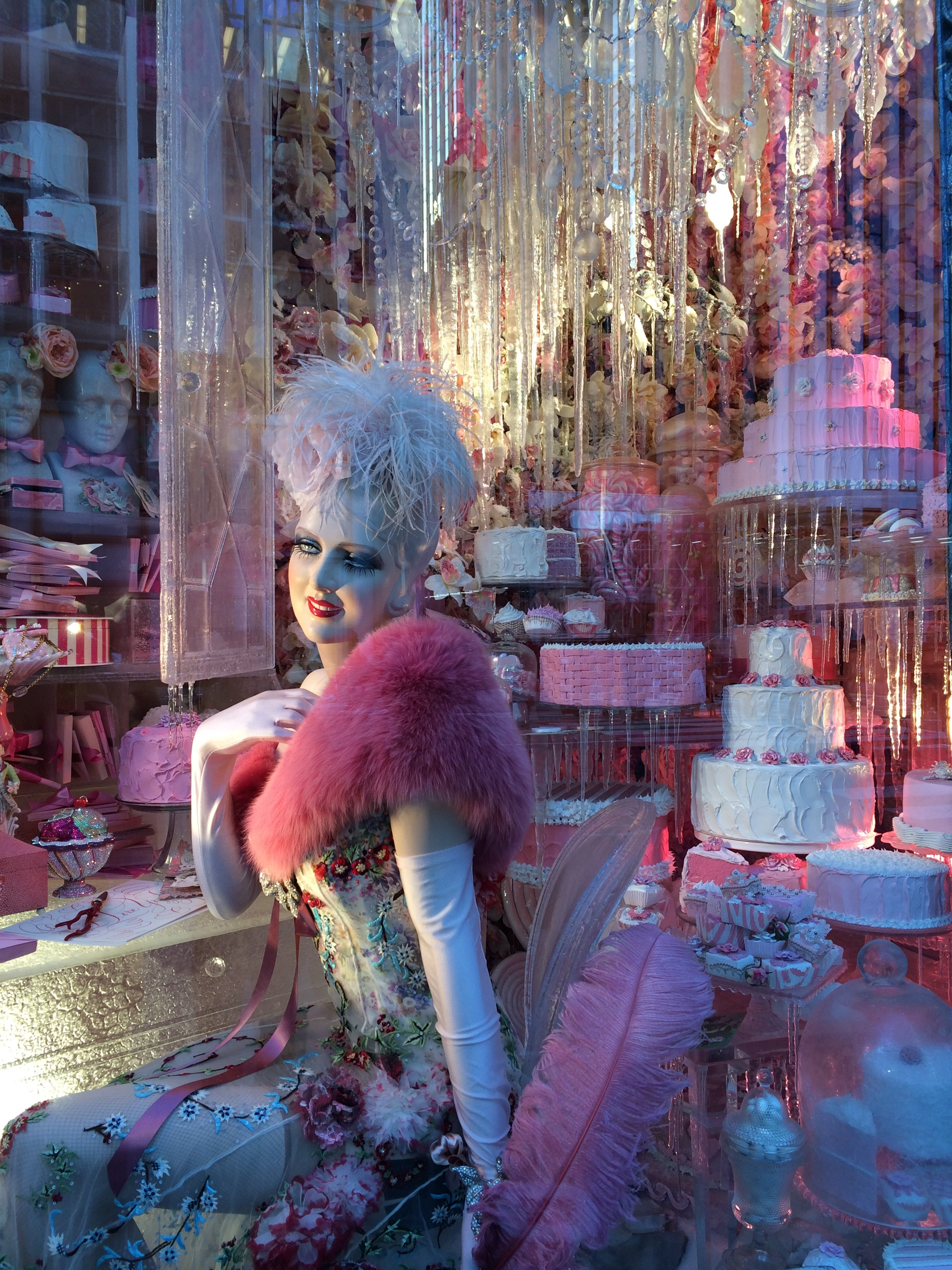 Holiday Windows, Bergdorf Goodman