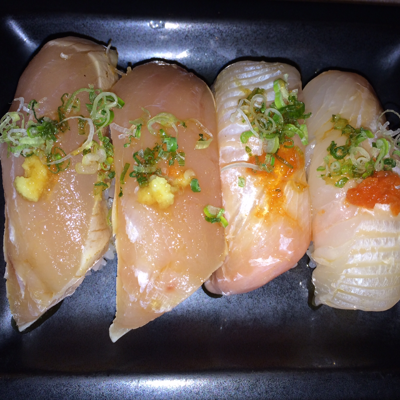 Albacore and Hirame
