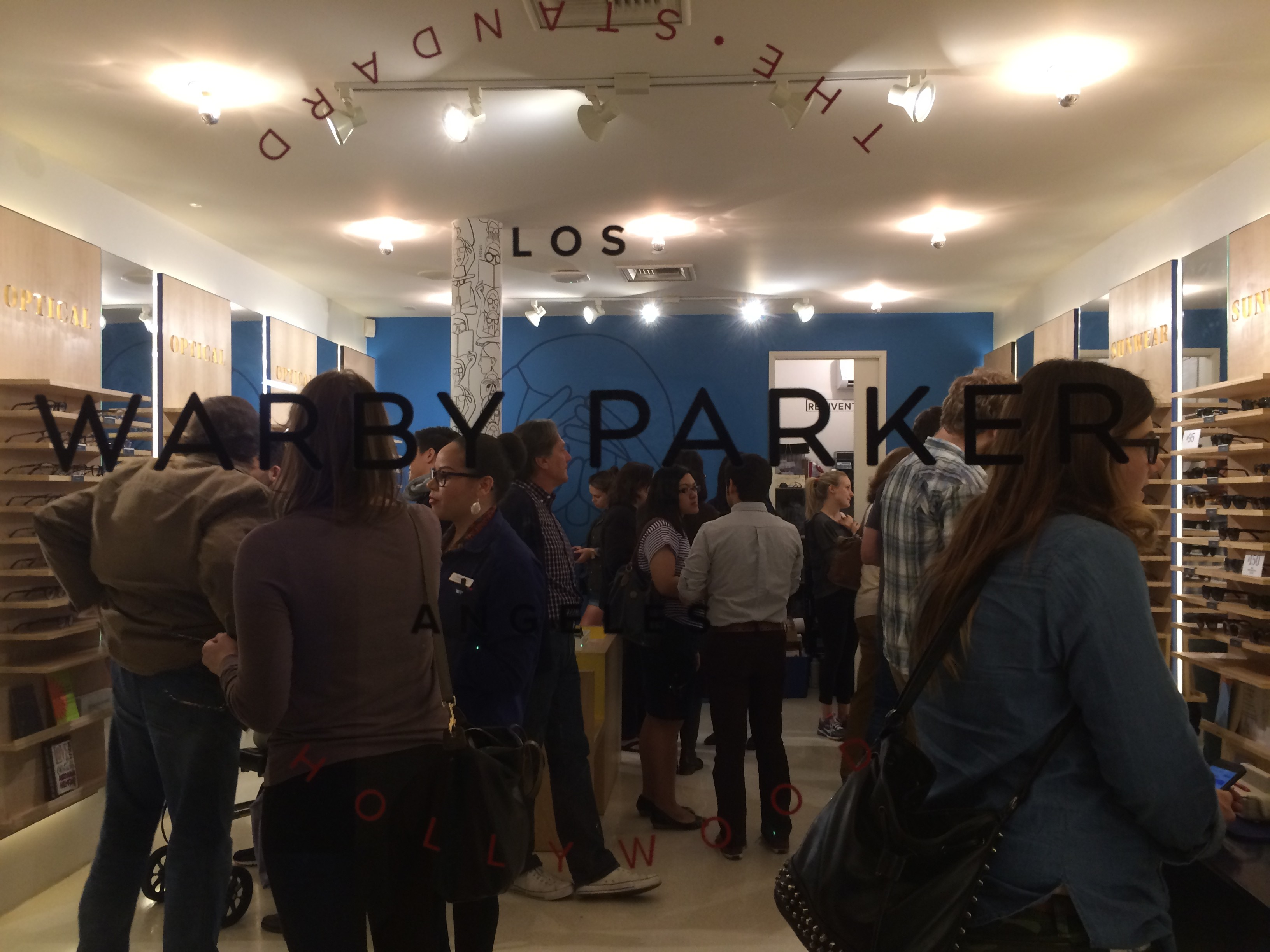 Warby Parker, Standard Hotel, West Hollywood