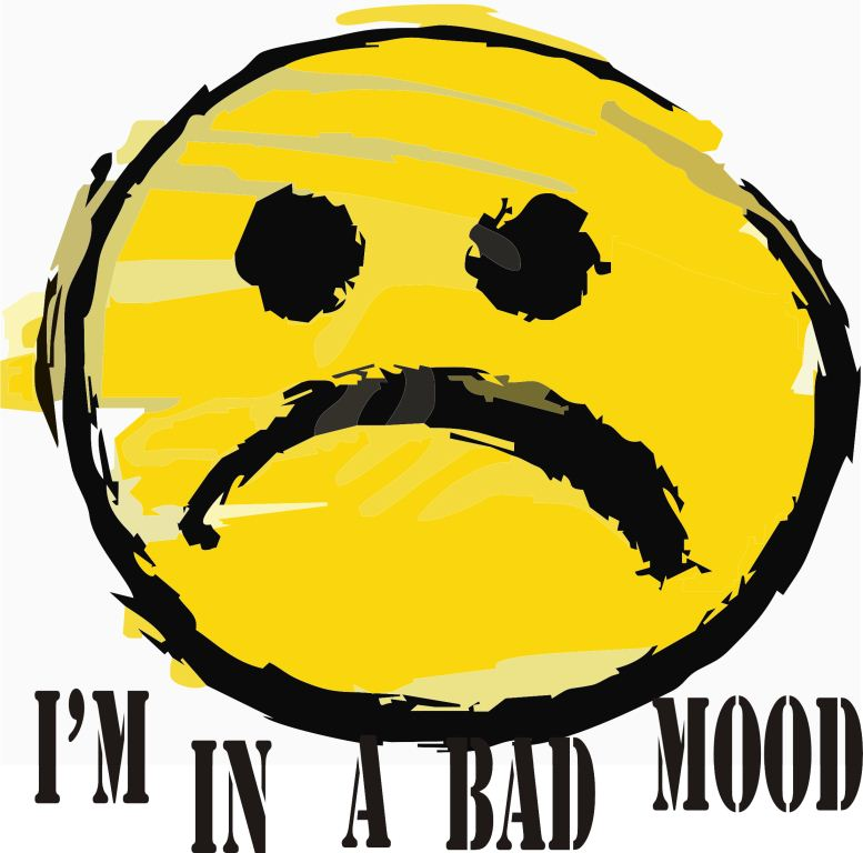 yellow bad mood