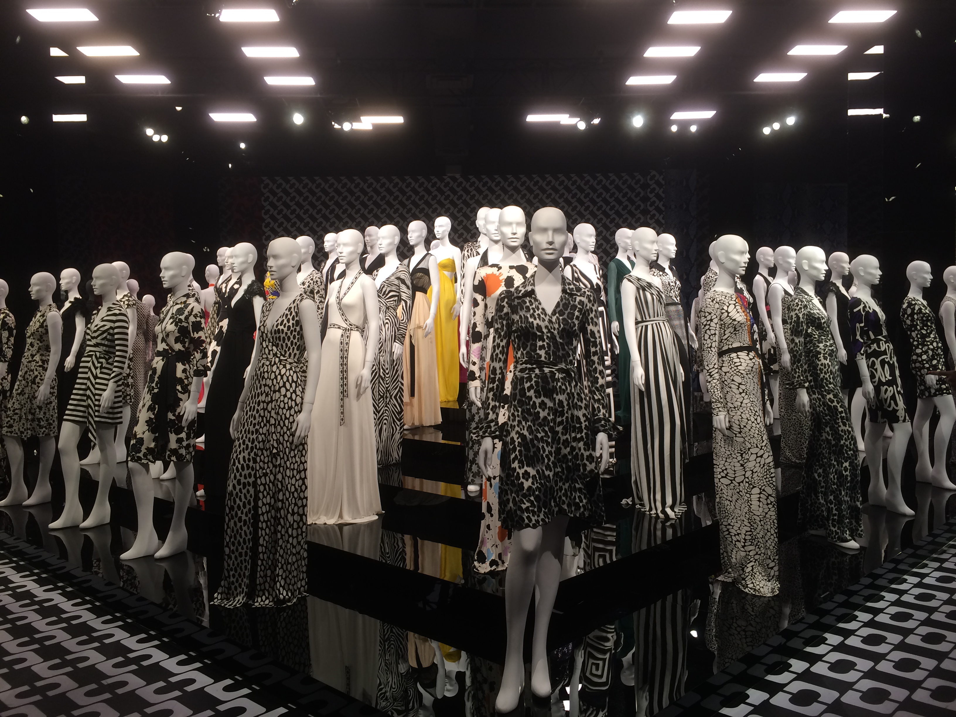 DVF Wrap Dress Exhibit