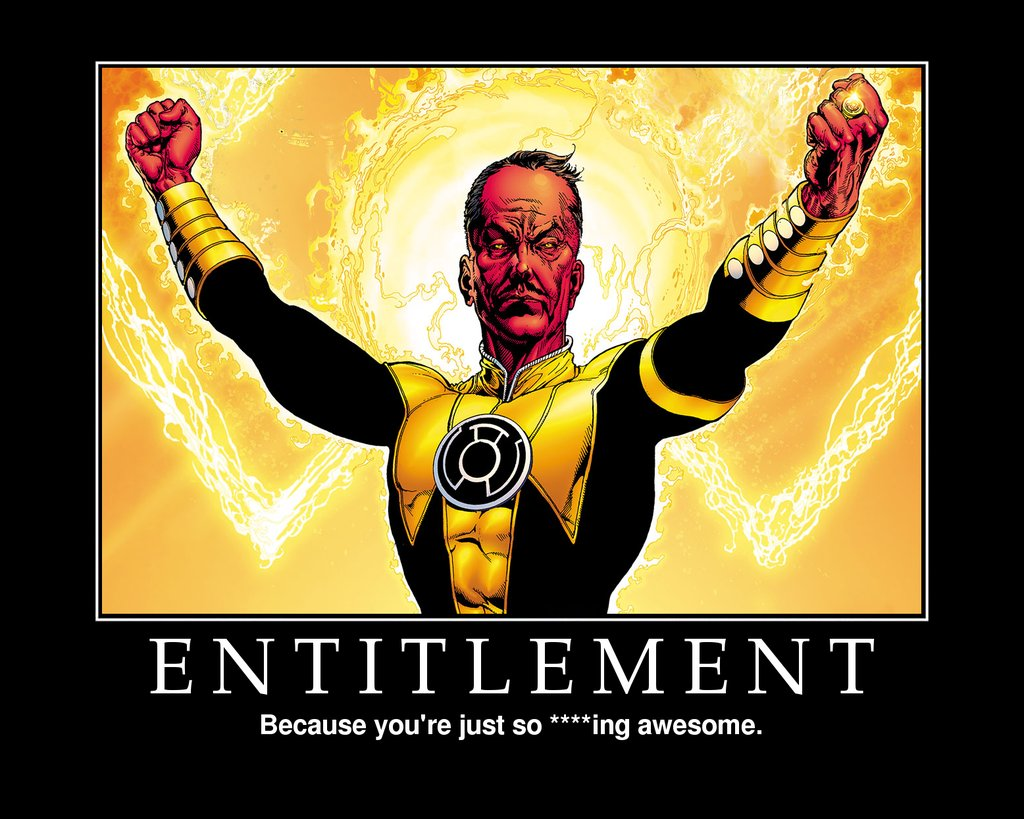 Avenging The Entitlementor's…