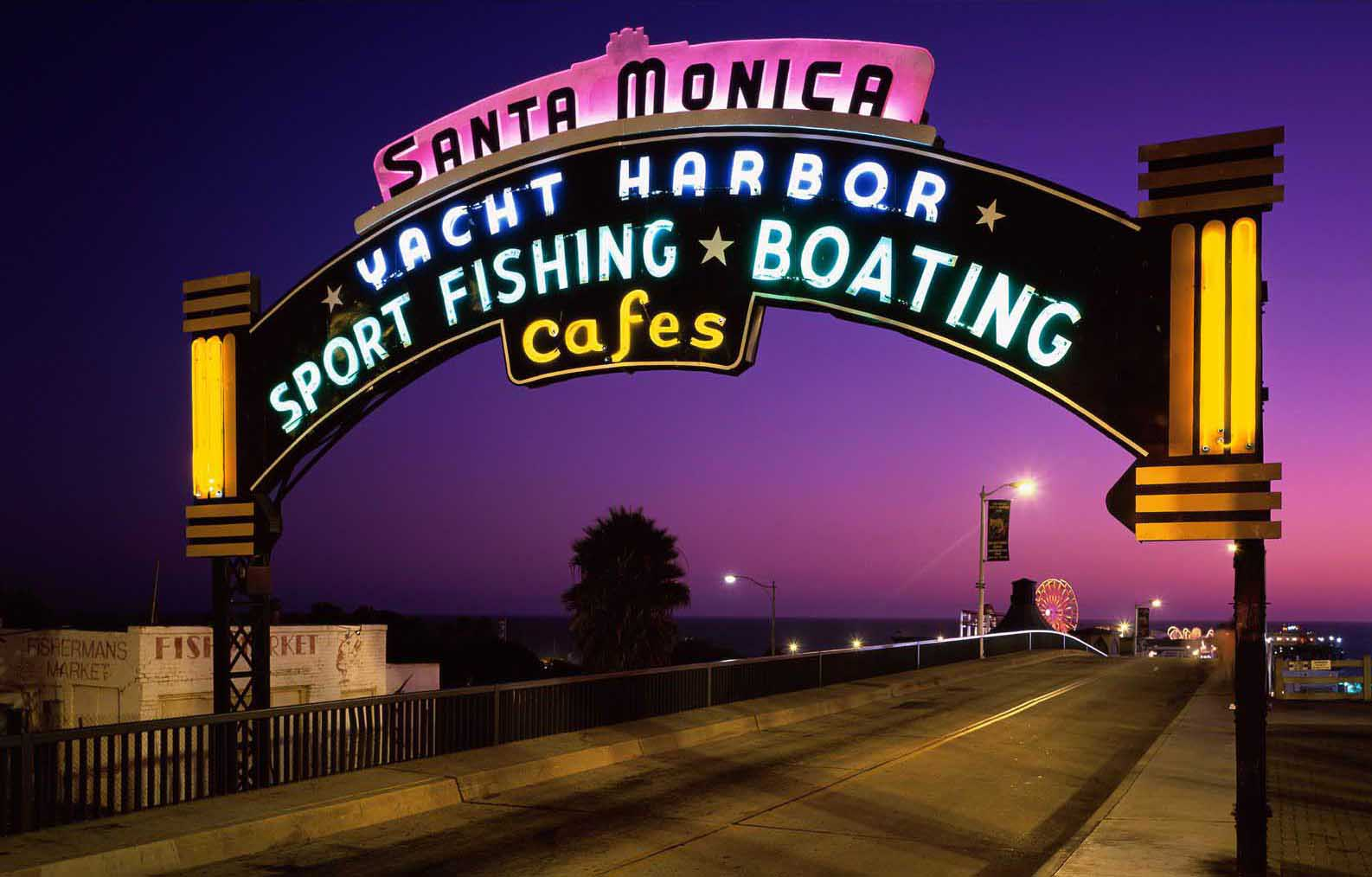 Fun at Santa Monica Pier…