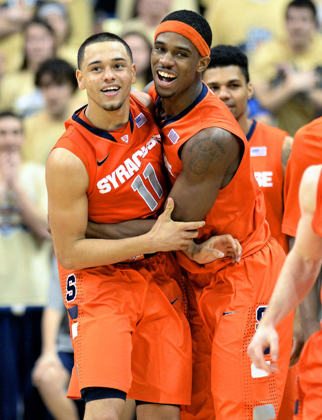 Tyler Ennis and CJ Fair