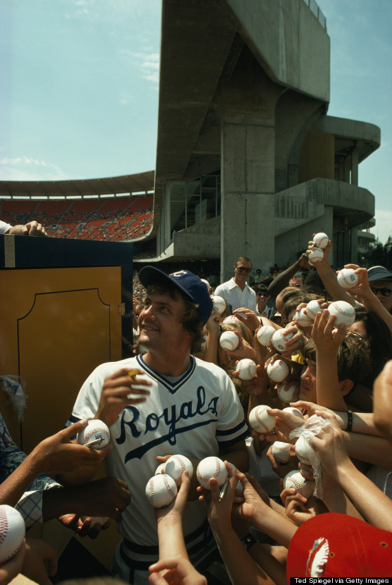 Kansas City Royals Great, George Brett Photo: National Geographic, Ted Spiegel/Getty Images