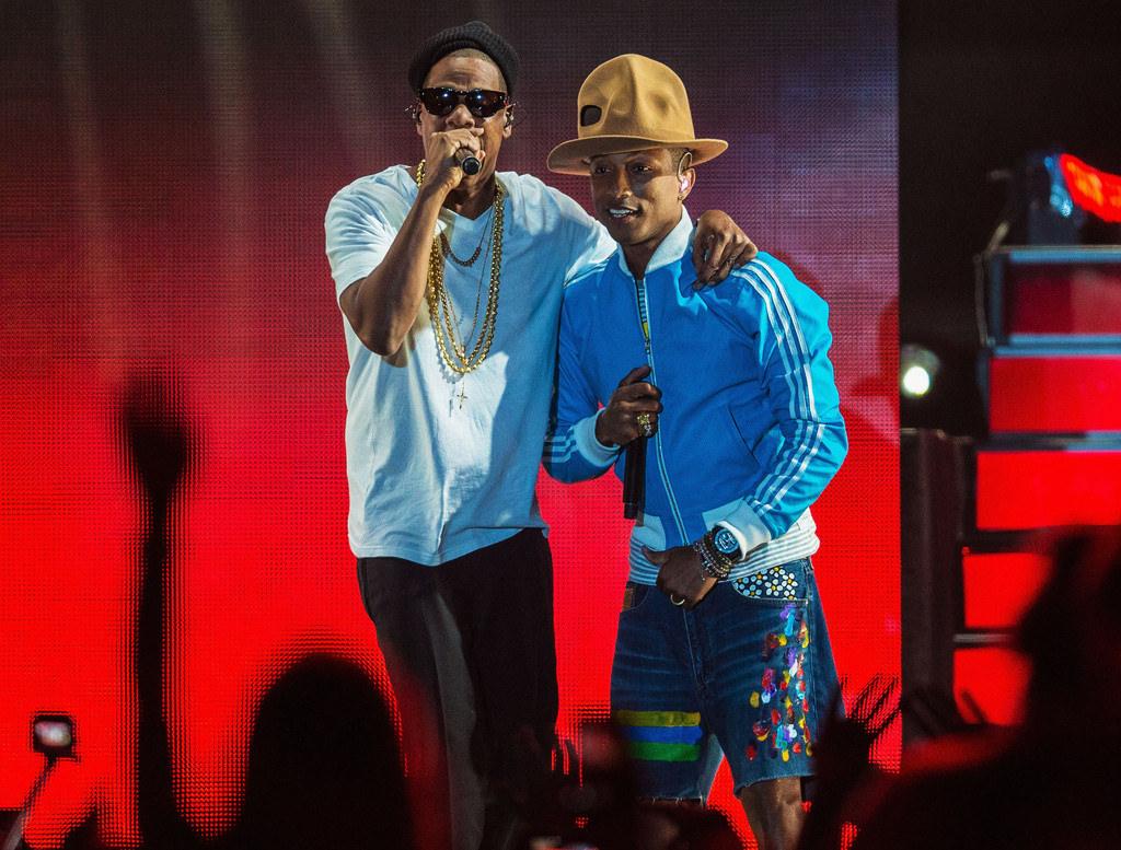 Pharrell and Jay Z Photo/atnightspots.com