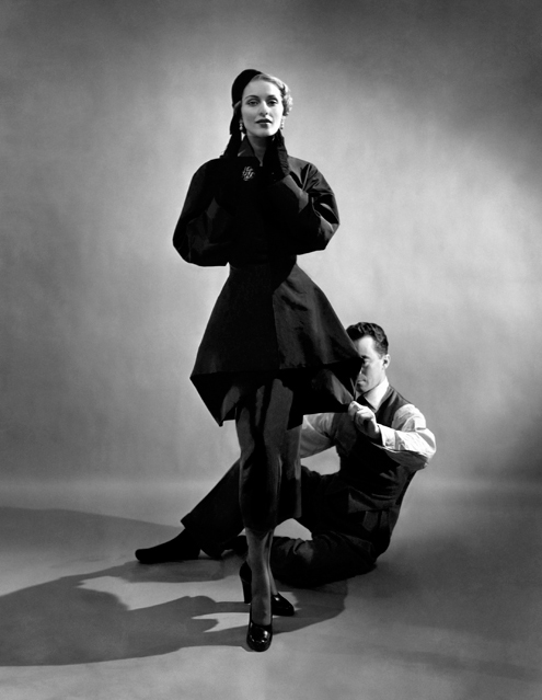 Charles James With Model