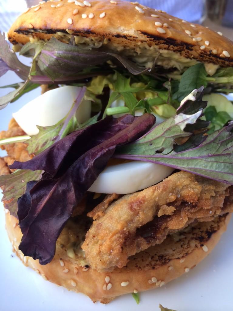 Oyster Po Boy Sandwich