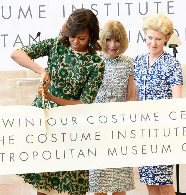 Michelle Obama, Anna Wintour  Photo:Michael Loccisano/Getty Images