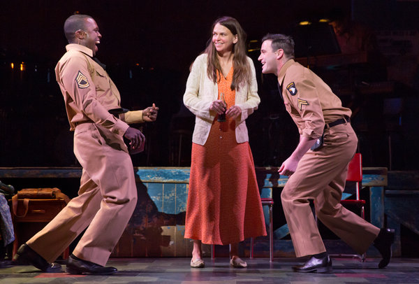 Joshua Henry, Sutton Foster, Colin Donnell