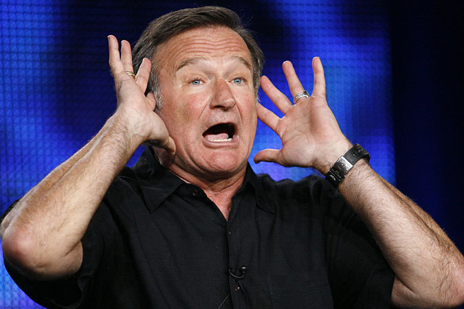 Robin Williams, The Real Thing…