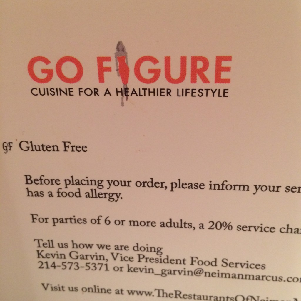 go figure menu
