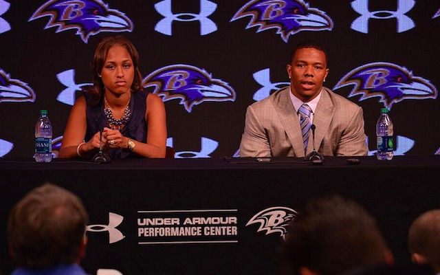 Janay Rice, Baltimore Ravens Running Back, Ray Rice  photo: cbssports.com