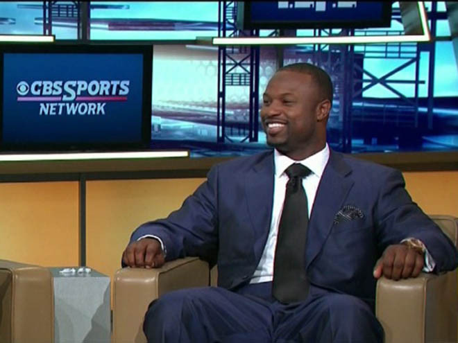 Former NFL Player & CBS Sports Commentator, Bart Scott  photo: usatoday.com