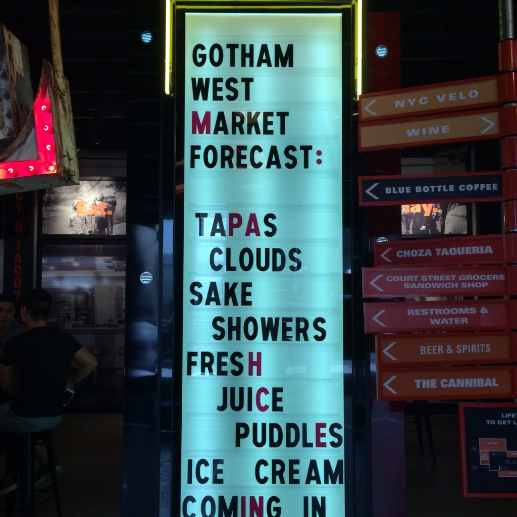 Head To Gotham West Market…