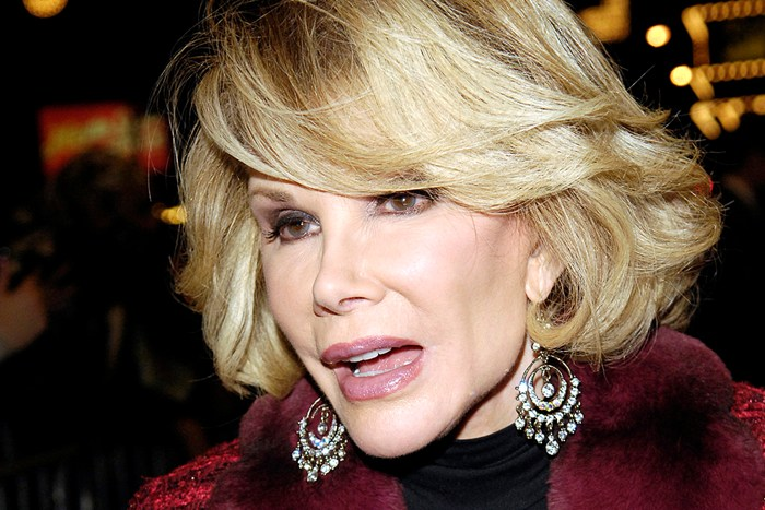 Joan Rivers, Can We Talk…
