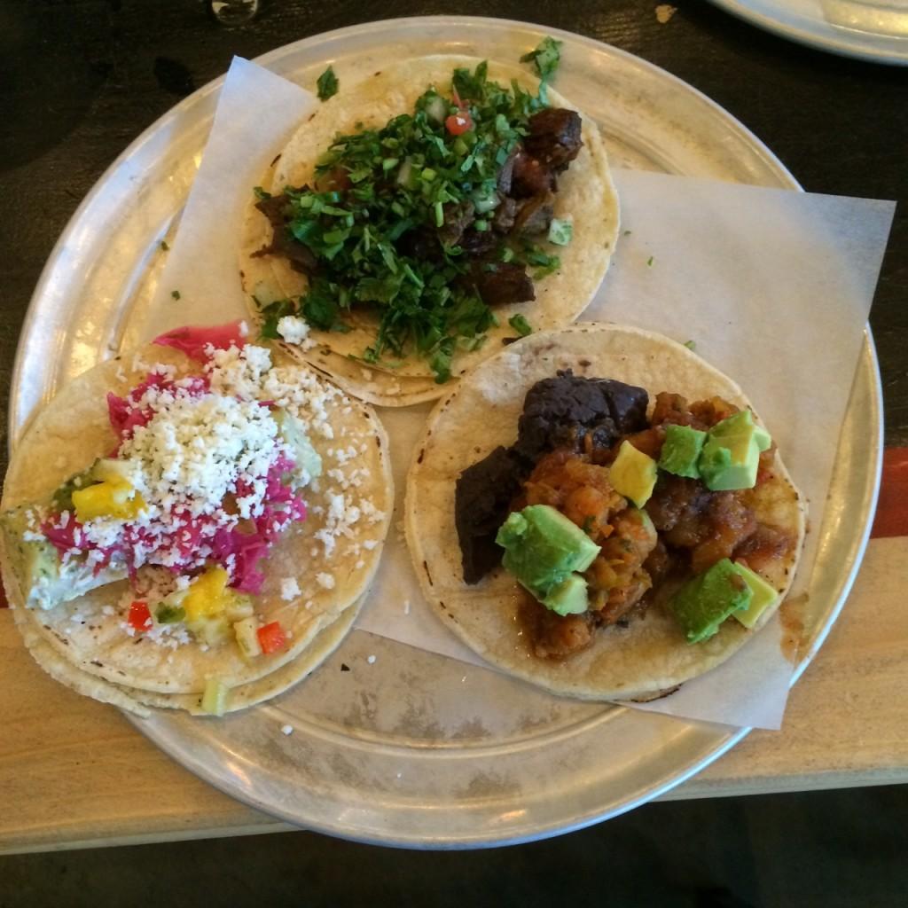 Shrimp, Carne Asada, Fis Tacos