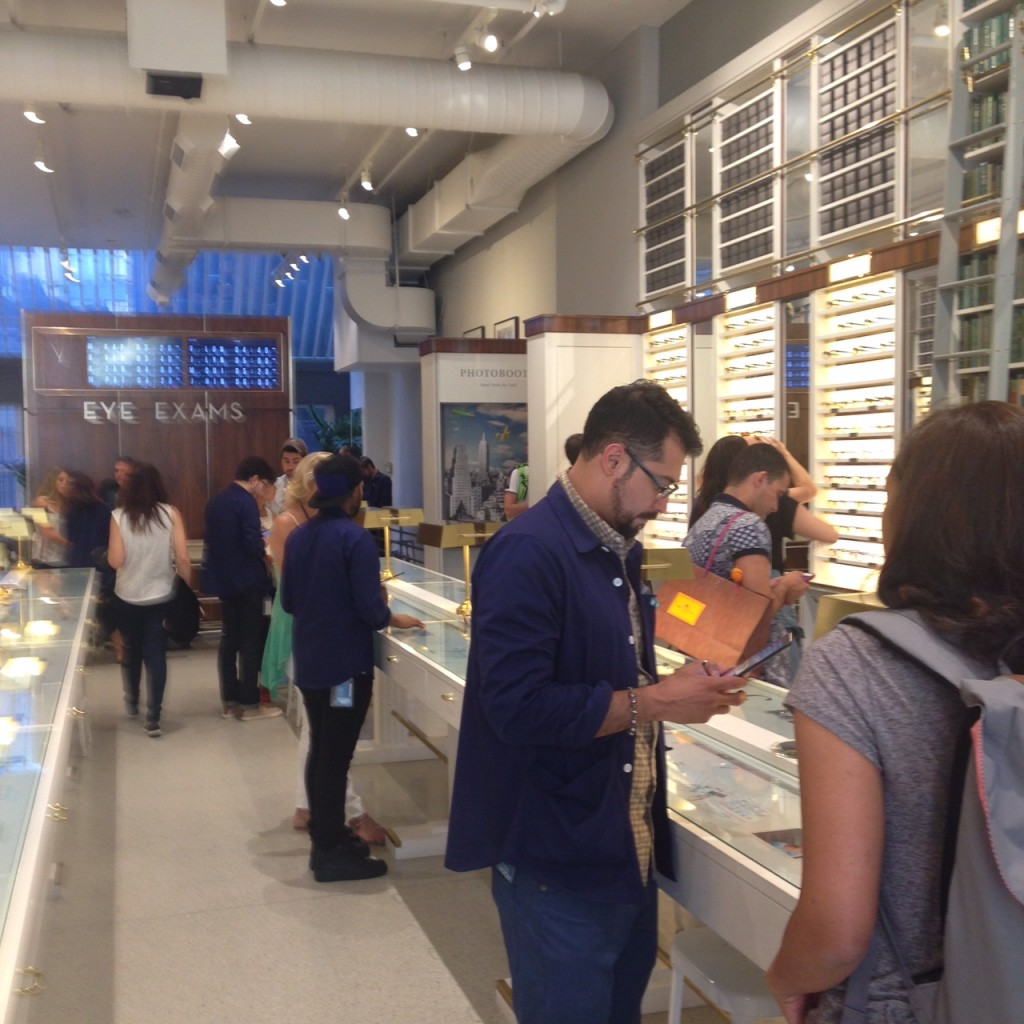 Warby Parker Freestanding Store