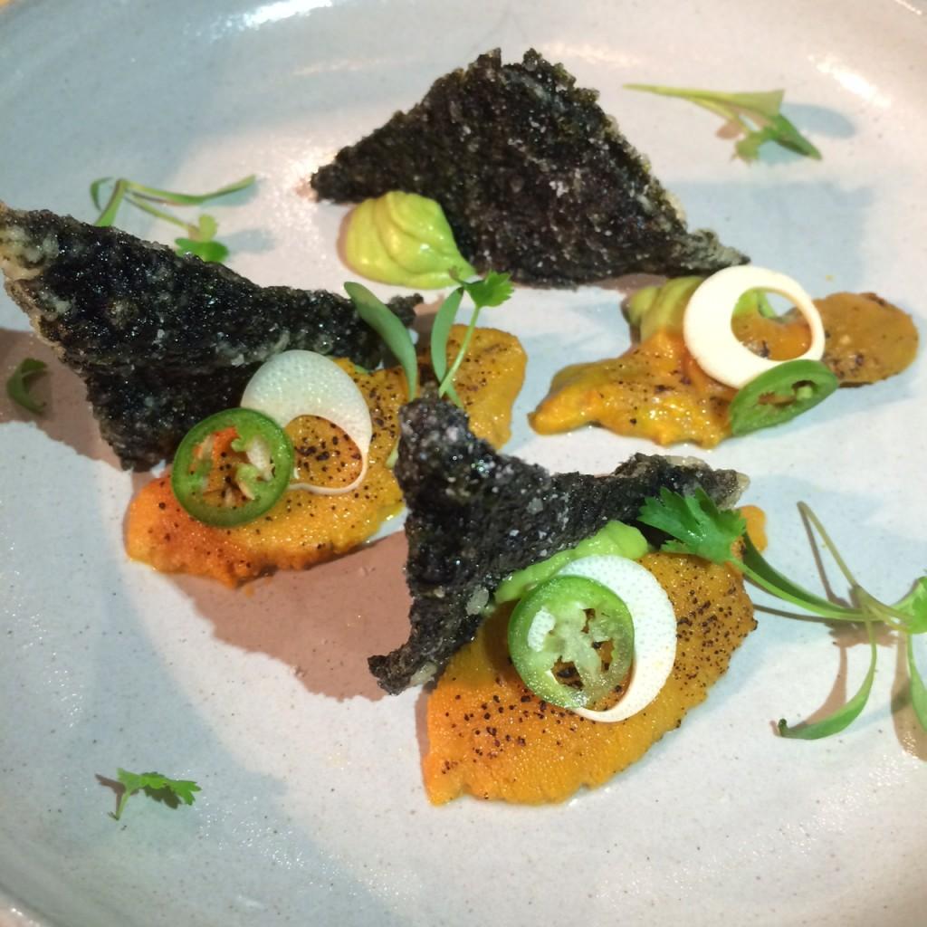 Sea Urchin Tataki