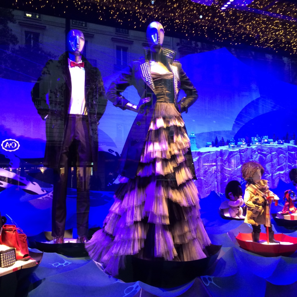 Printemps Burberry Window