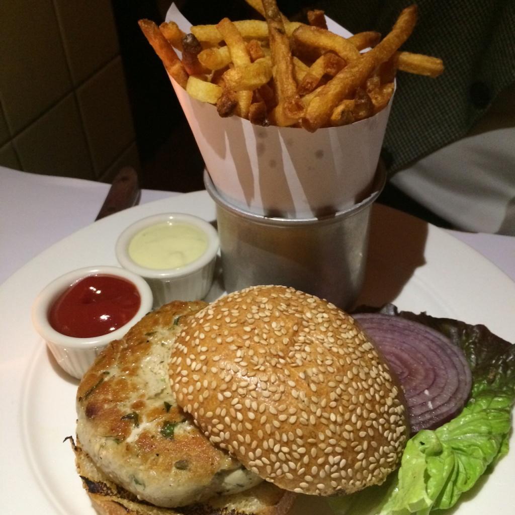 Yellowfin Tuna Burger