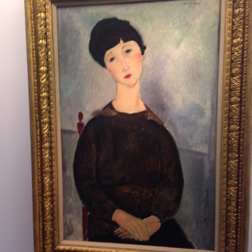 Almedo Modigliani Picasso Private Collection