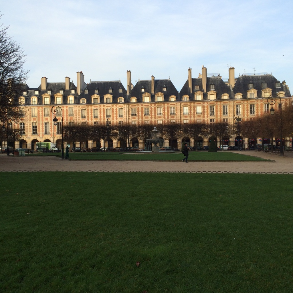 Place de Voges, Marais
