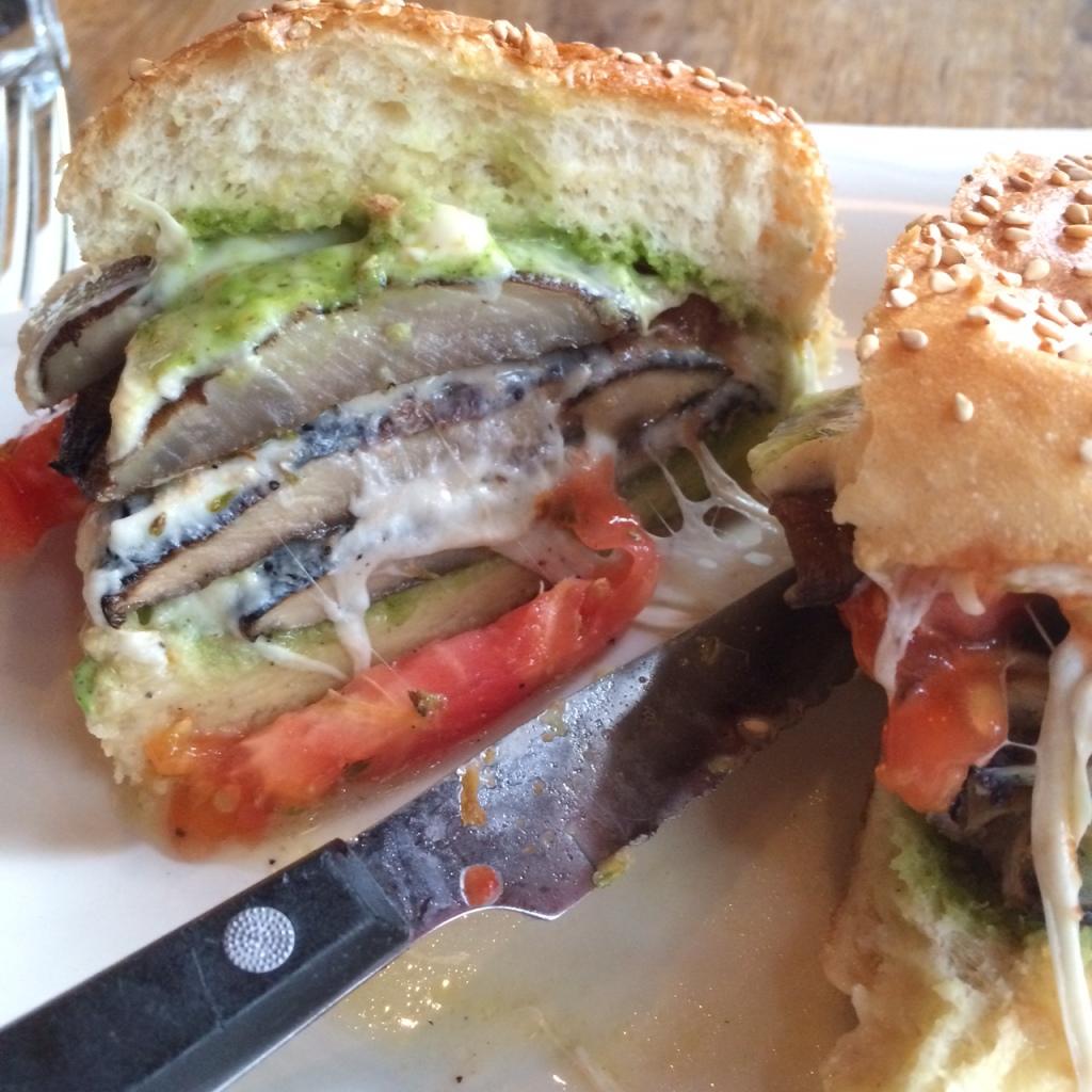 Portobello Melt Sandwich