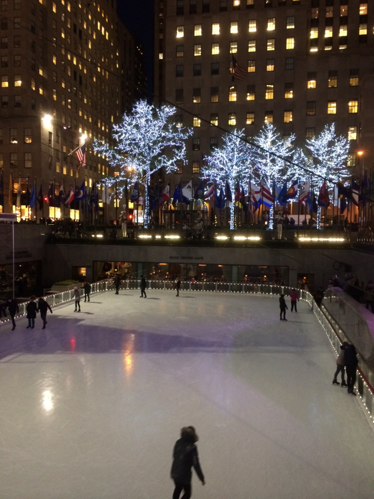 Rockefeller Center  Ice Skating Rink