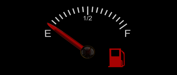 Running On Empty…