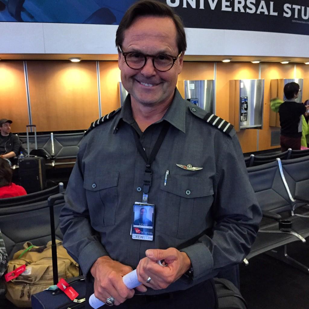 Virgin America Pilot Lloyd Moulton