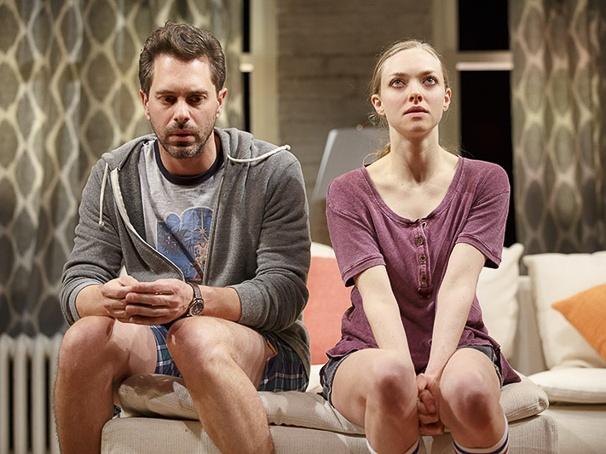 Thomas Sadoski, Amanda Seyfried  photo:broadway.com