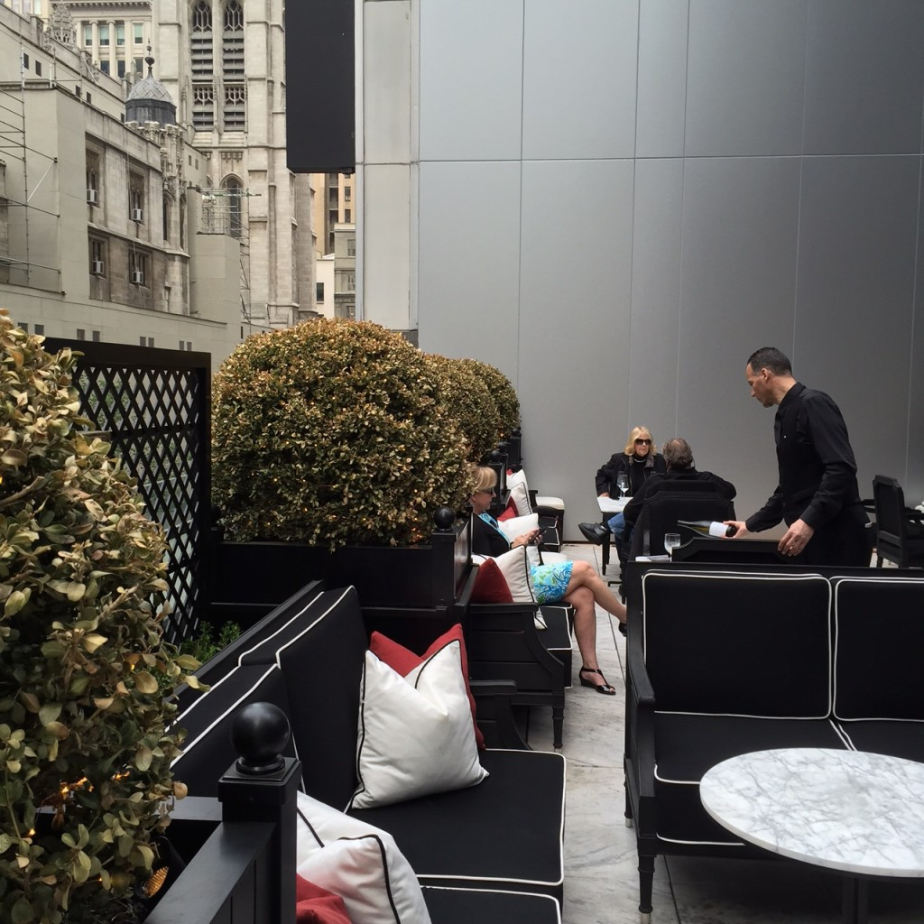 Baccarat Outdoor Patio