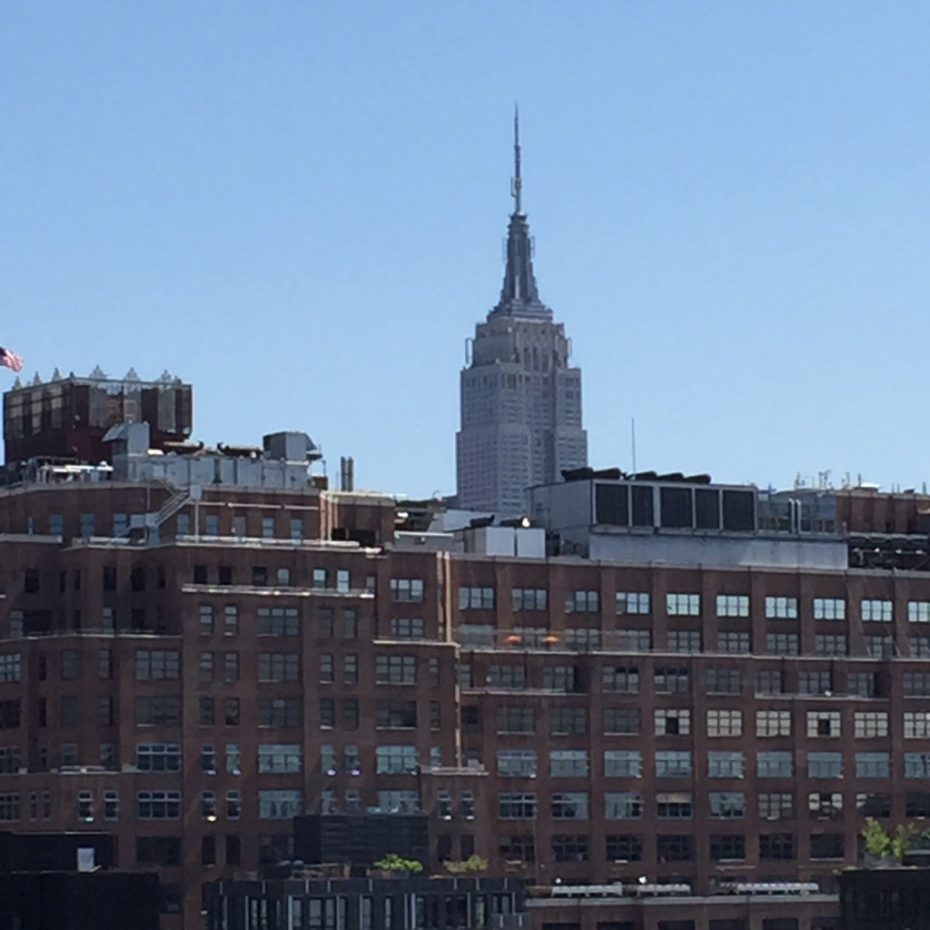 Empire State Building from Whitney Balcony