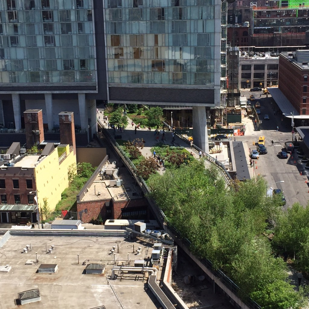 High Line from the Whitney