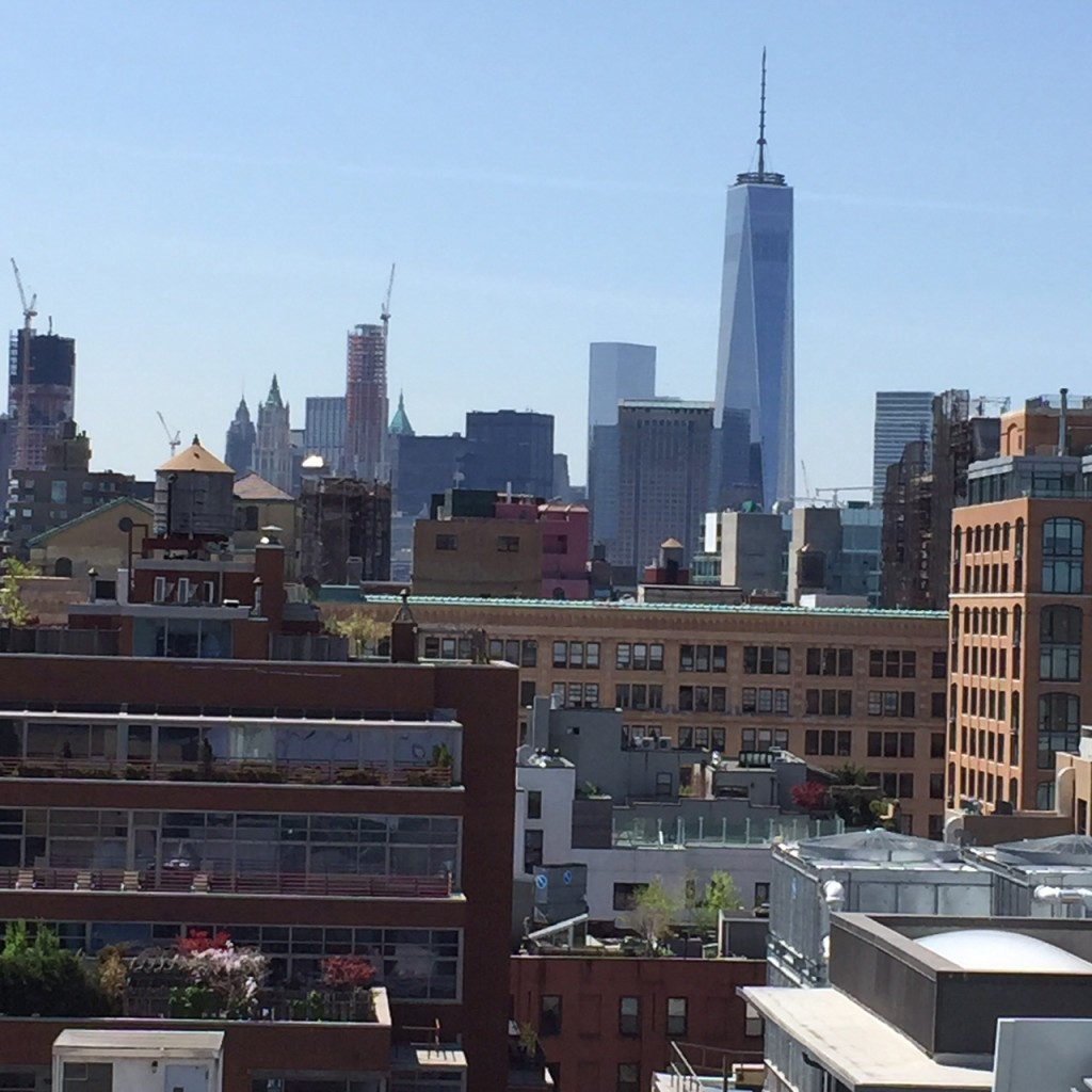 Freedom Tower from the Whitney Balcony
