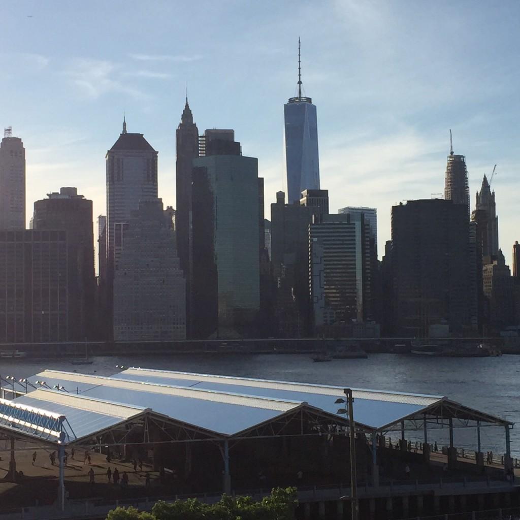 Lower Manhattan From Brooklyn Heights Esplanade