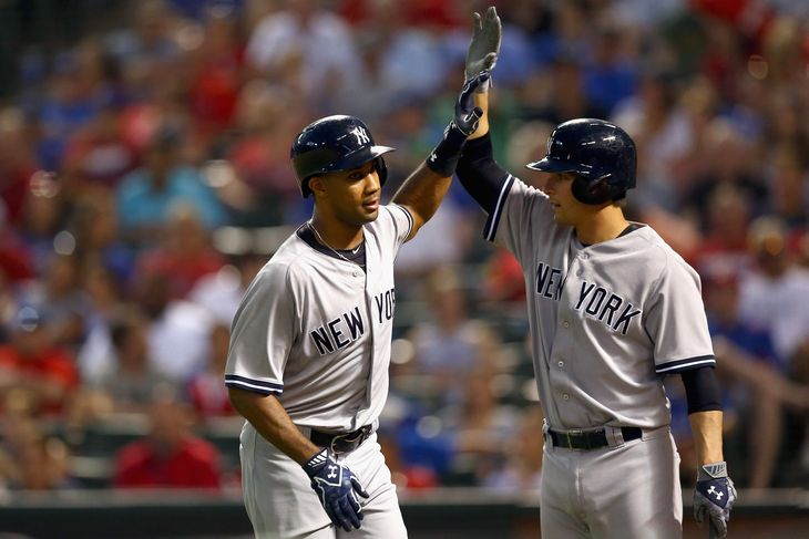 Chris Young Hits Grand Slam Homer  photo:pinstripealley.com