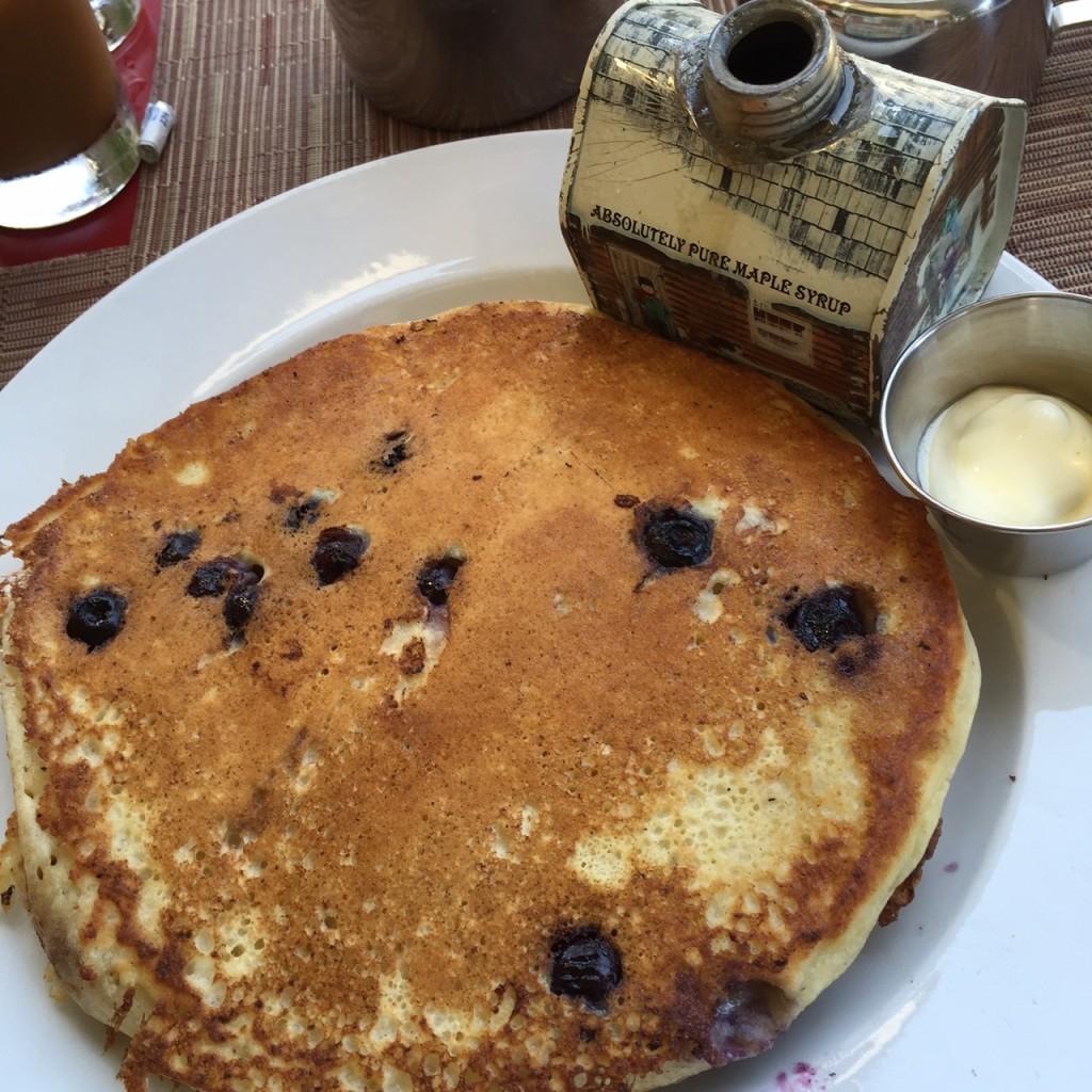 Ricotta Pancakes, BLD