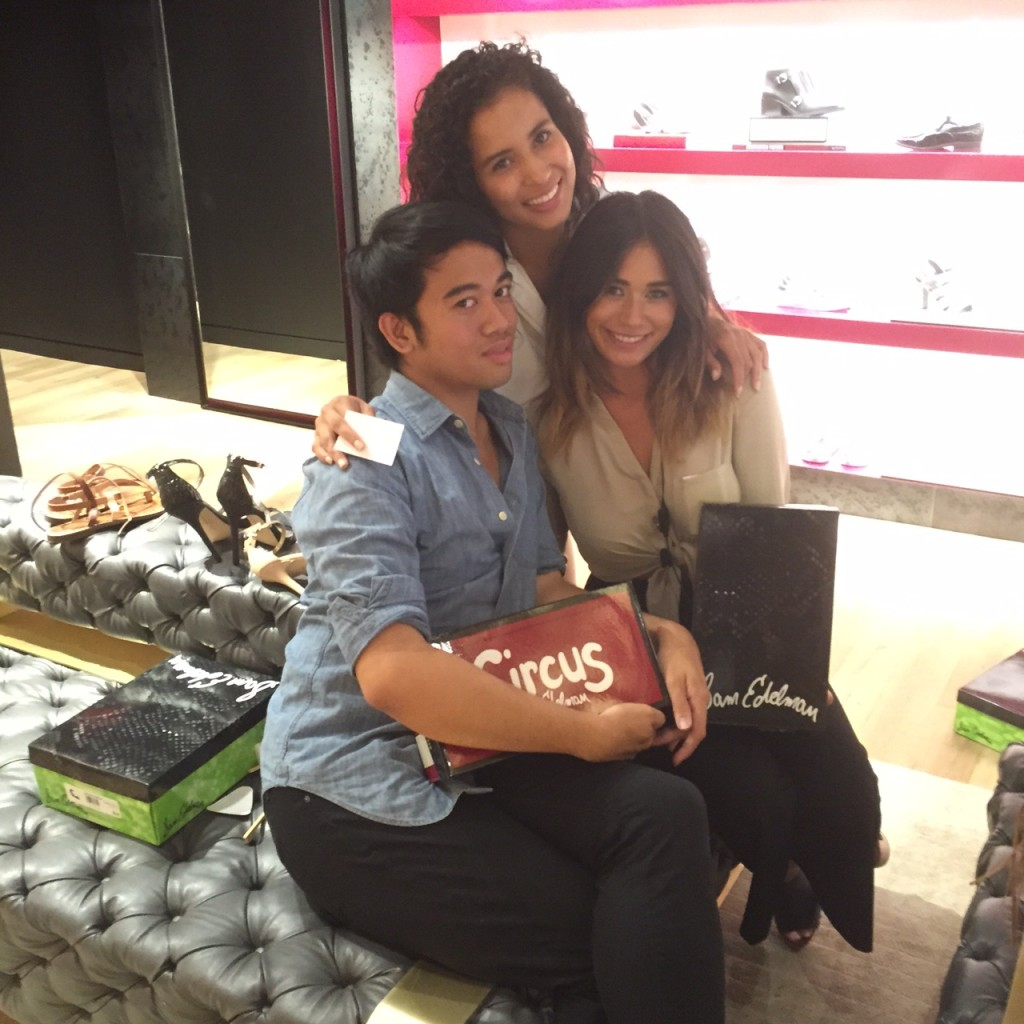 Ralph, Dru, G at Sam Edelman, Beverly Hills