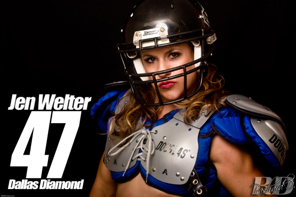 Jen Welter  photo:rashard d images