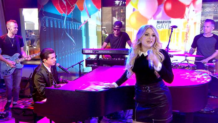 Charlie Puth & Meghan Trainor photo: today show