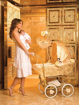 Melania Trump, Baron Trump In the Nursery  photo:people.com