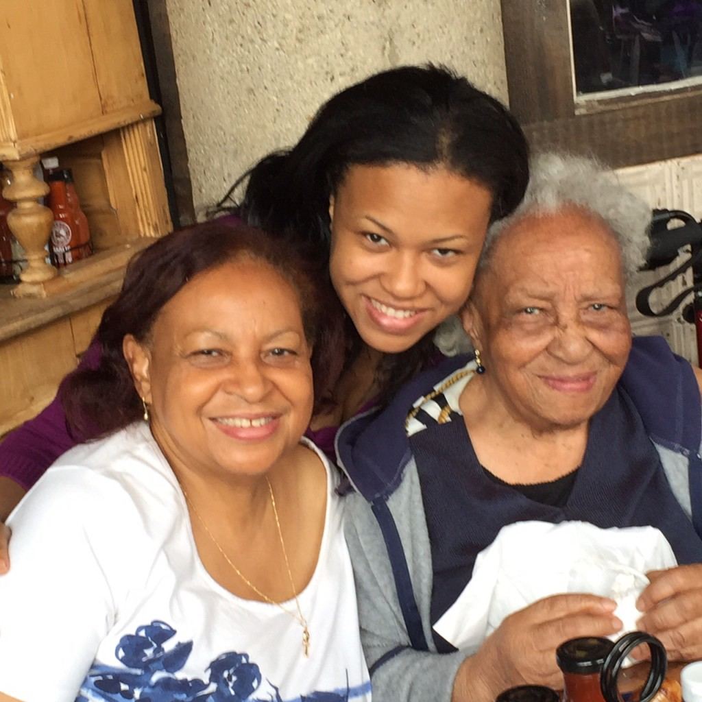 Joye (daughter), Tenisha (granddaughter), Ethel
