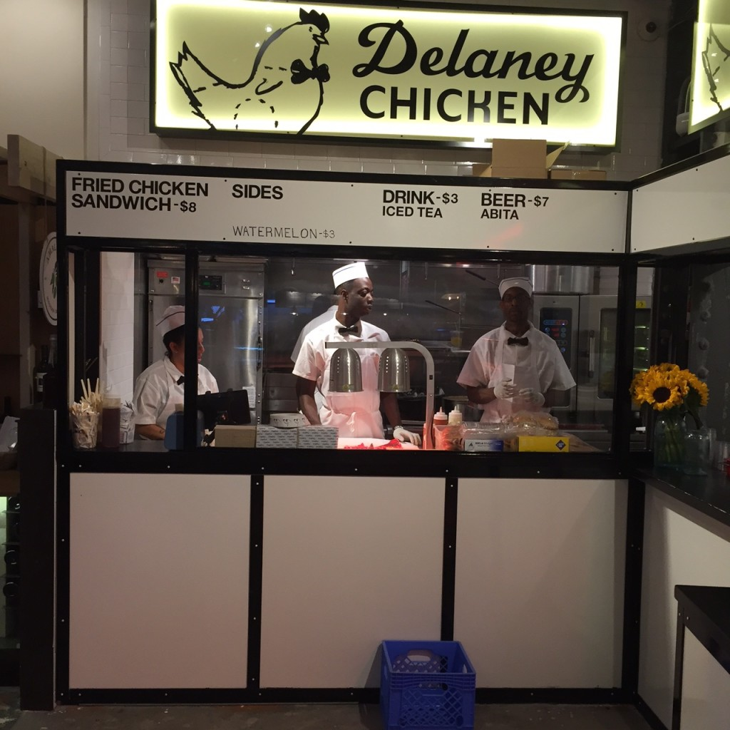 Delaney Chicken UrbanSpace @ Vanderbilt