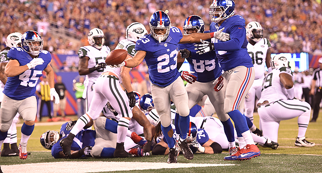 NY Giants vs NY Jets photo:giants.com