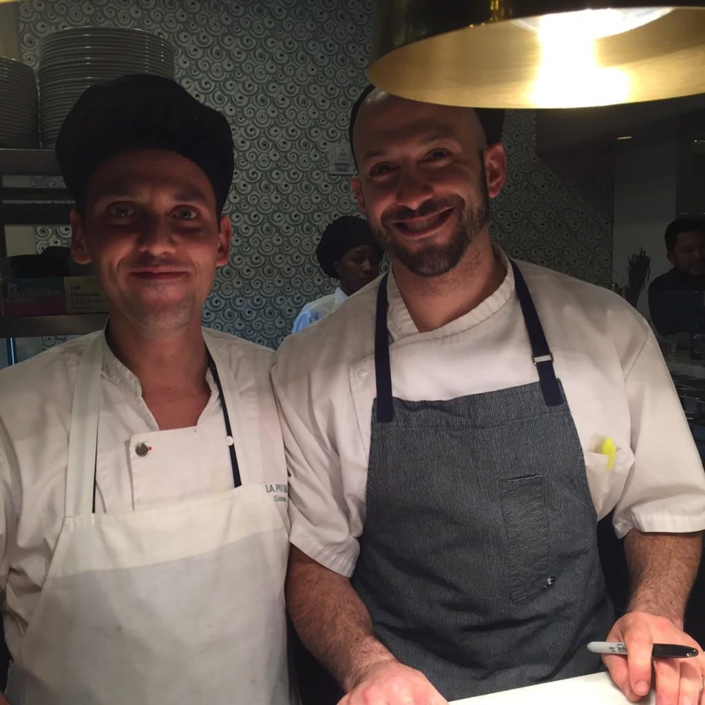 Executive Chef Simone Bonelli & John