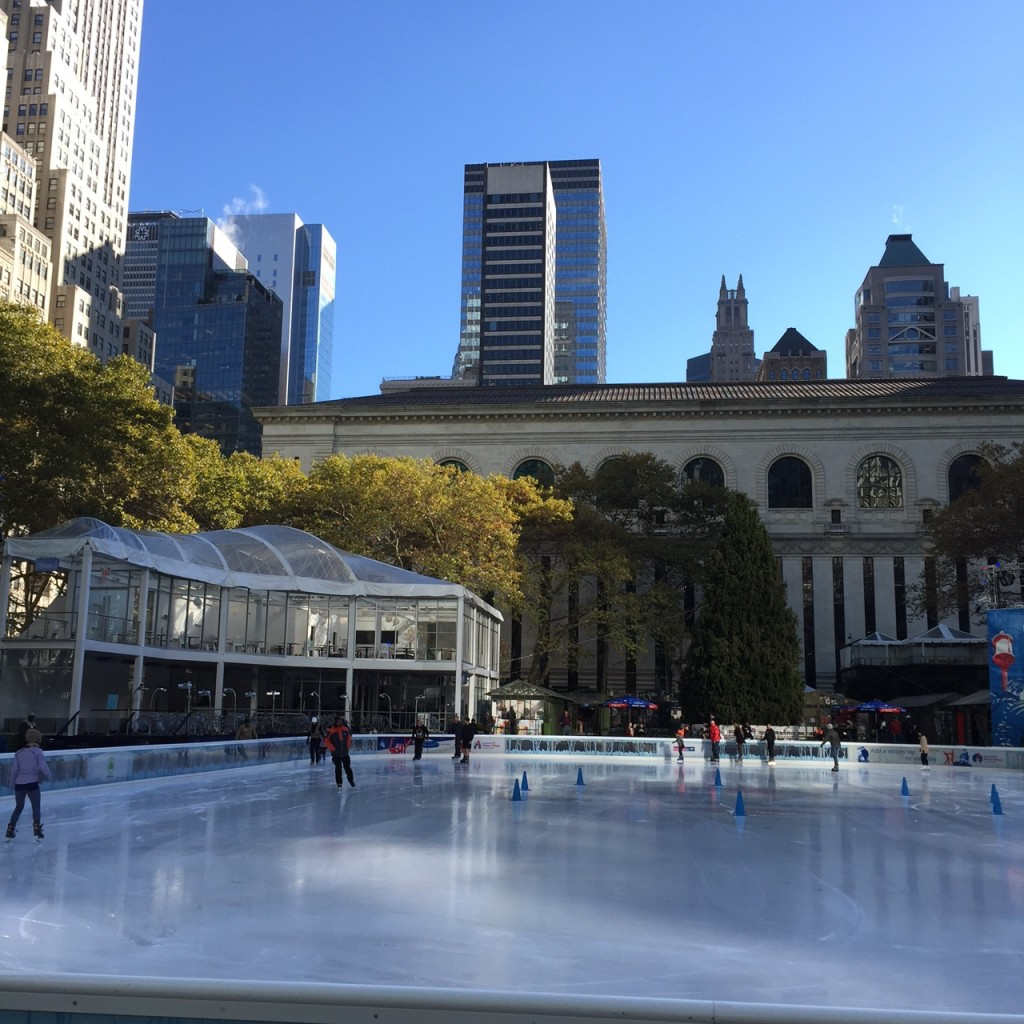 Bryant Park Holiday Skating Rink