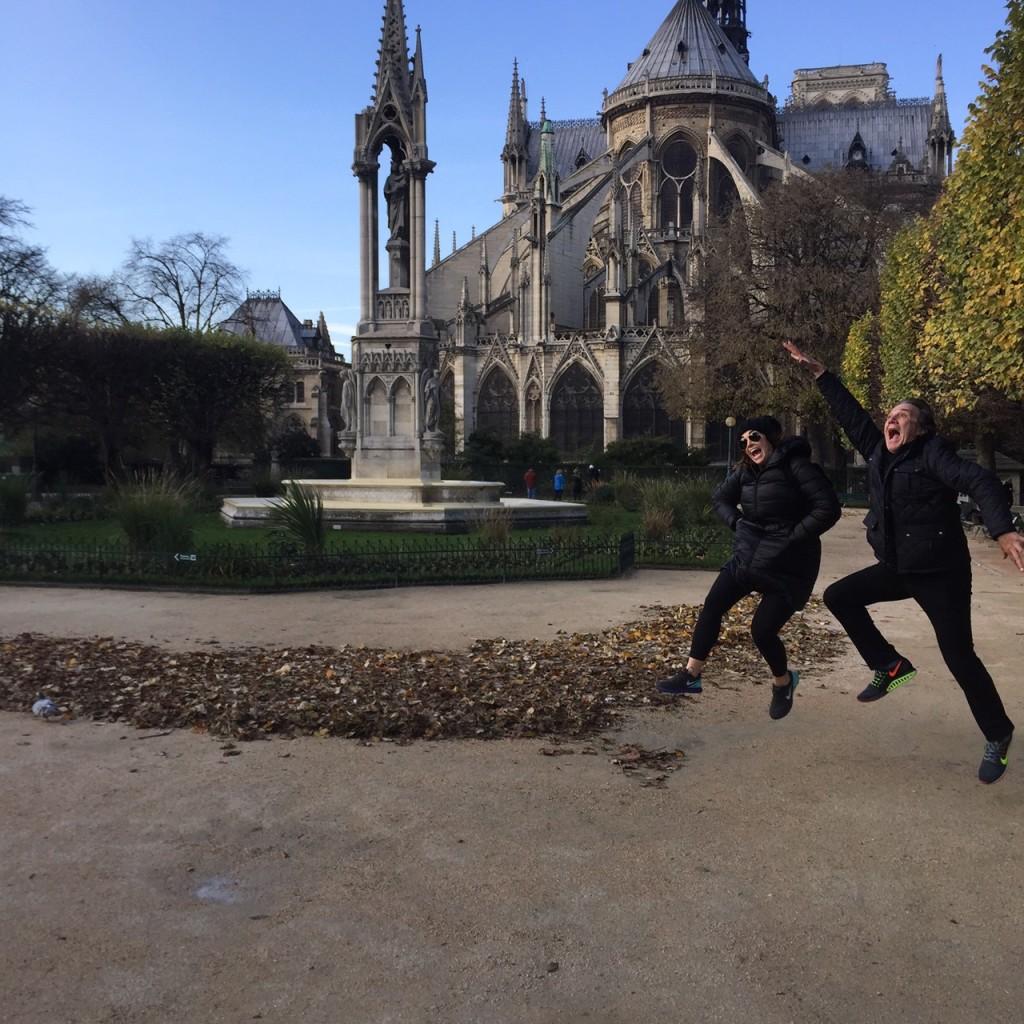 Courtny & David at Notre Dame